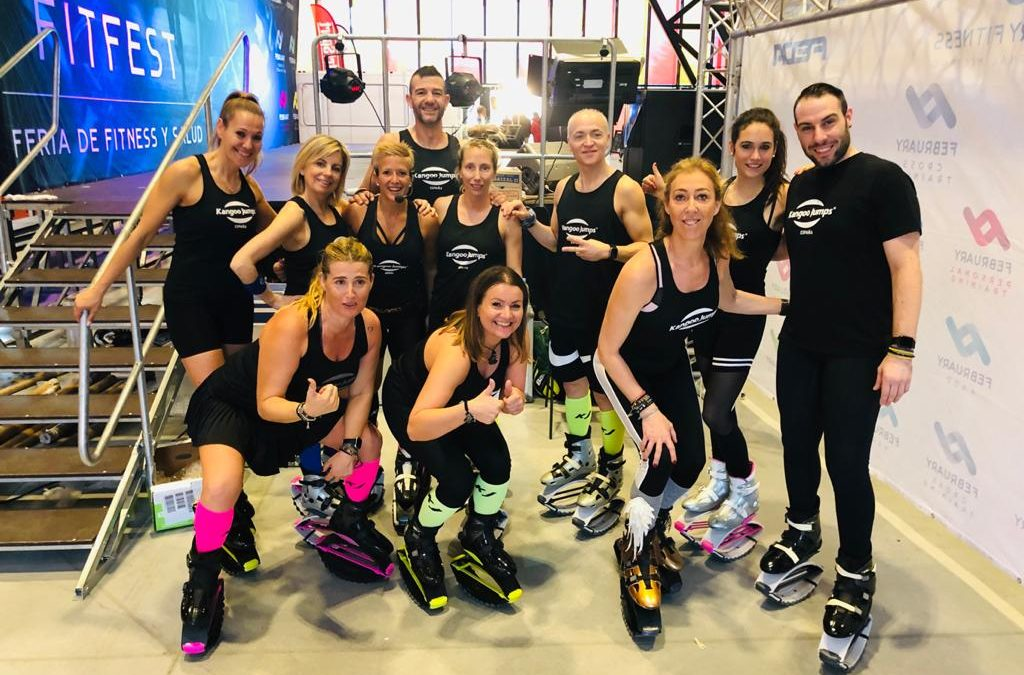 Kangoo Jumps®, en la XIV February Fitness de León