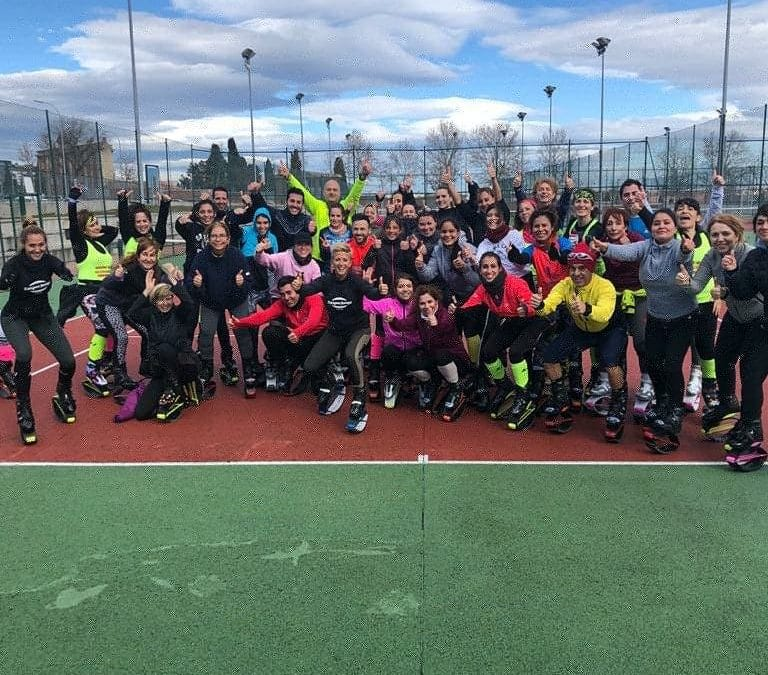 Primera sesión del V Tour Kangoo Boot Camp®-Madrid 2020